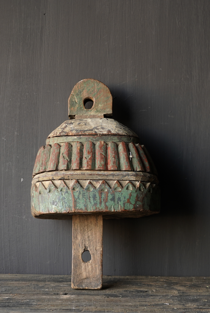 Uniek Oud Indisch Ornament