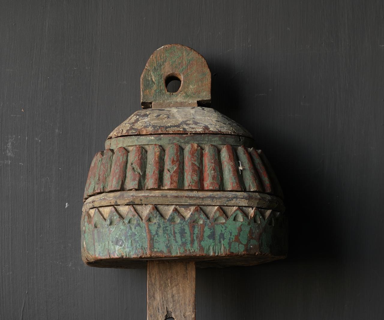 Uniek Oud Indisch Ornament-4