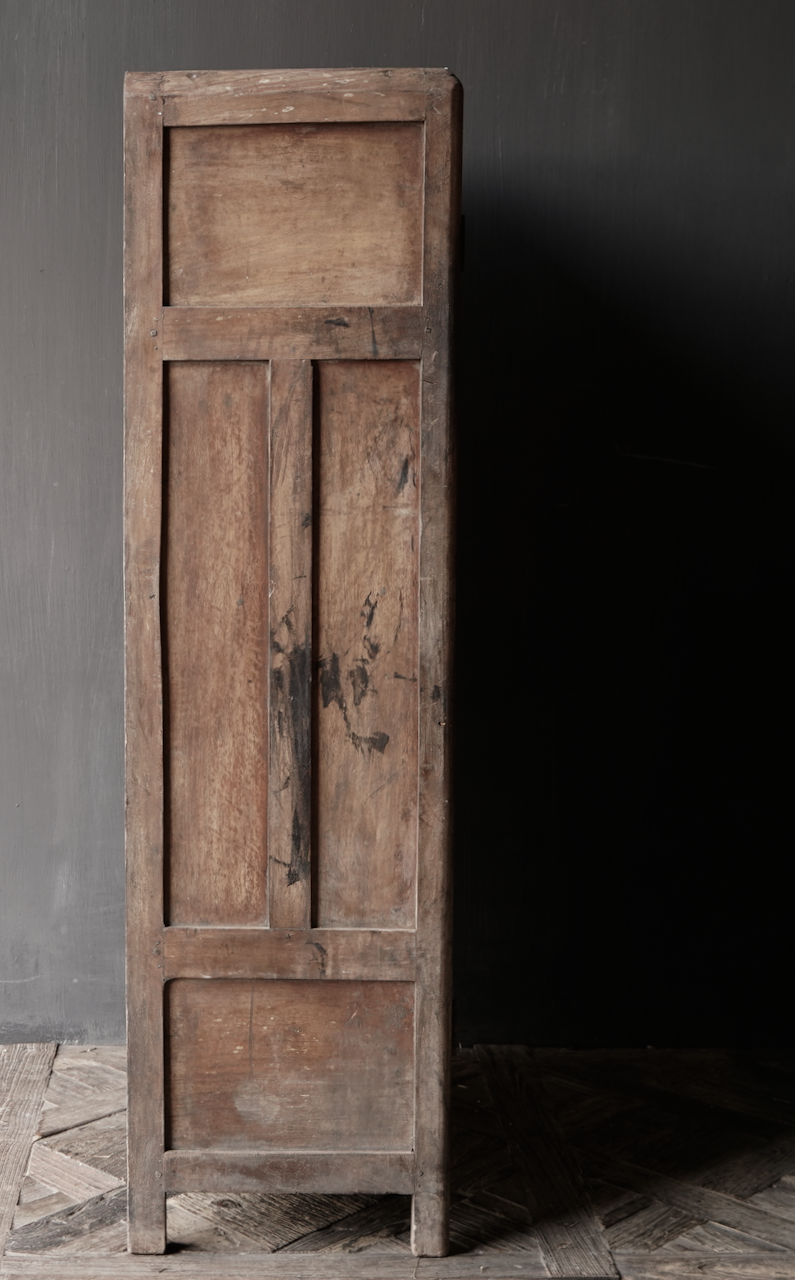 Unique Old Indian two-door cabinet-5