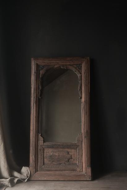 Spiegel aus altem Authentic Liege