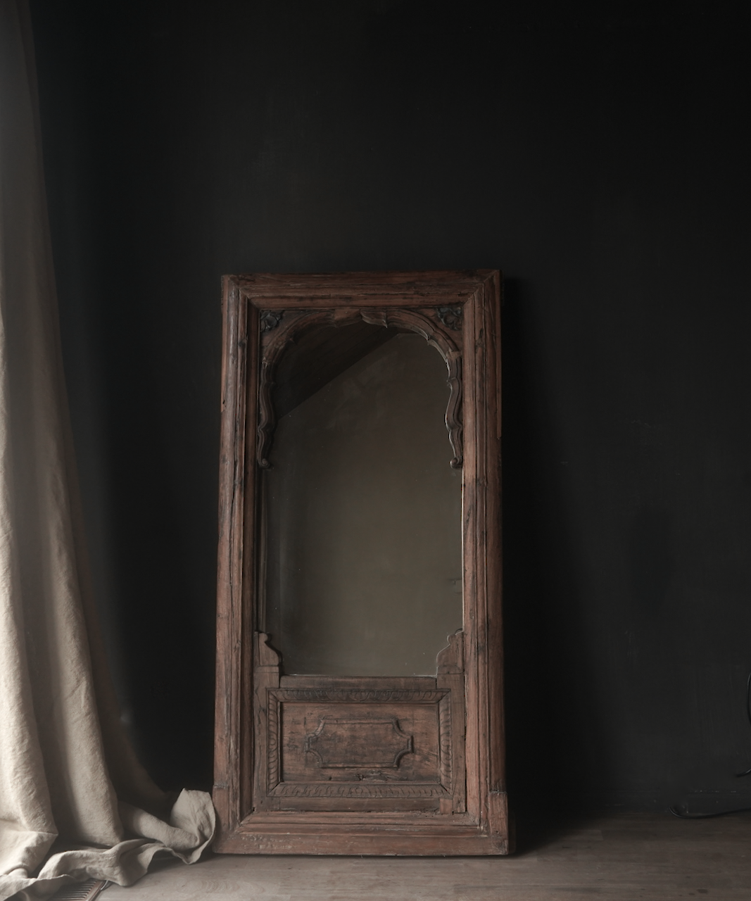 Mirror made of old Authentic Liege-1
