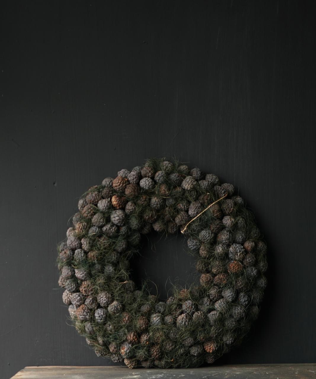 Tough Fruit wreath Gray / Green-4