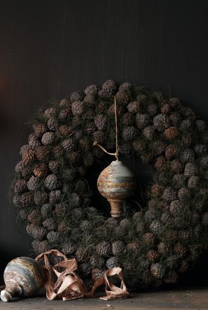 Tough Fruit wreath Gray / Green