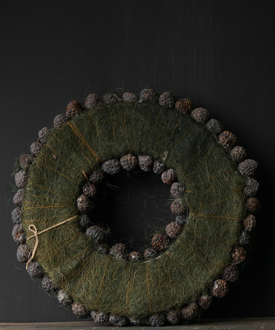 Tough Fruit wreath Gray / Green-2