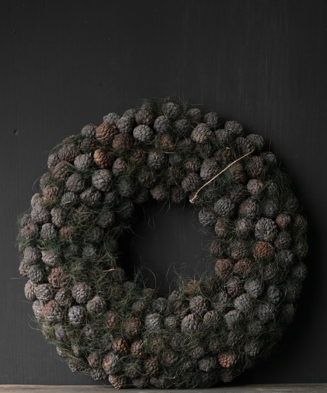 Tough Fruit wreath Gray / Green-3