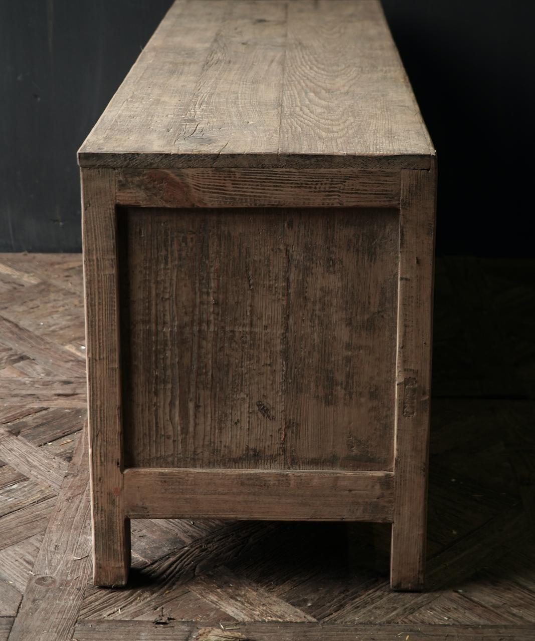 Schönes robustes Holz Sideboard / TV-Schrank / TV-Schrank-3