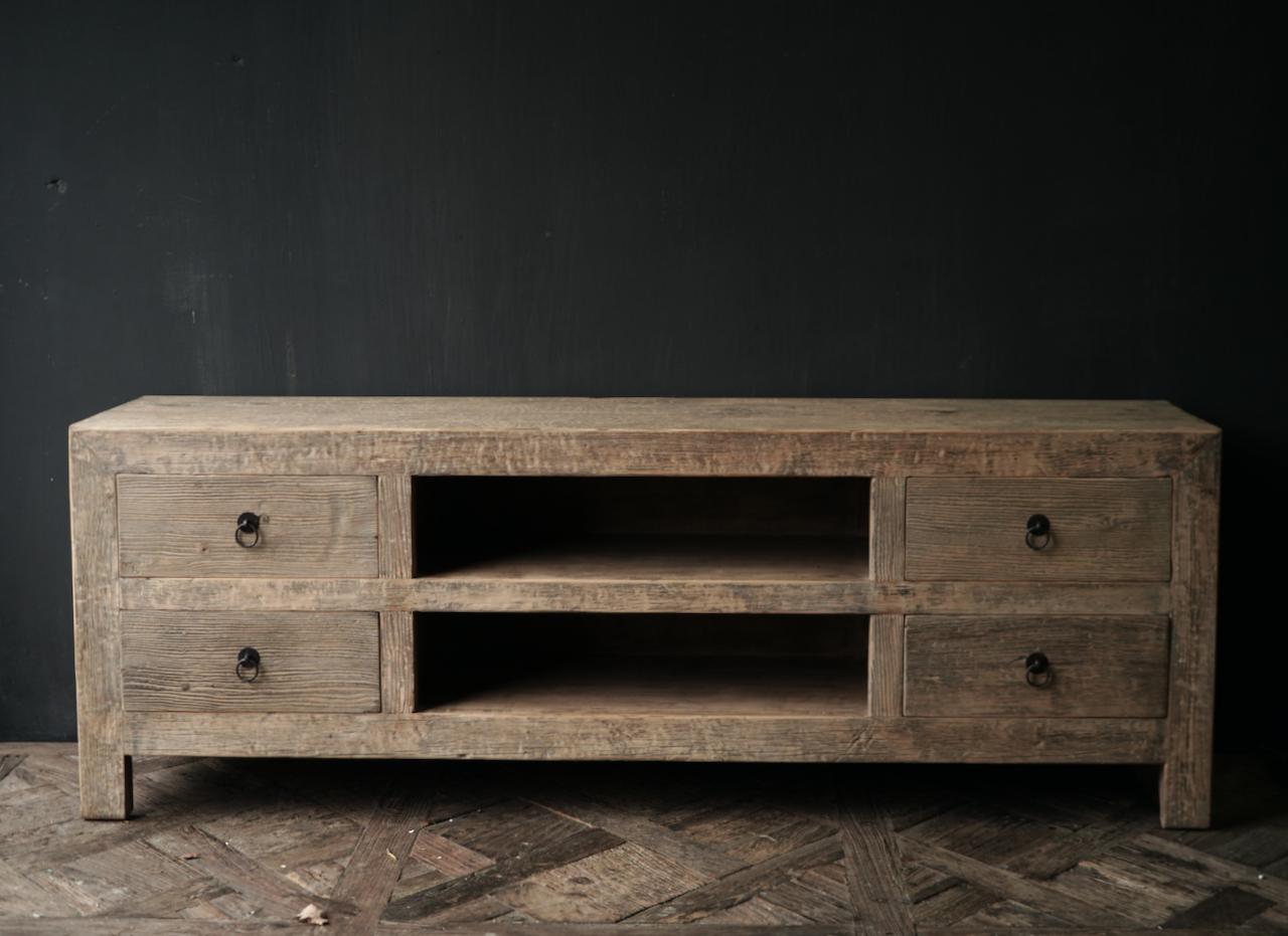 Schönes robustes Holz Sideboard / TV-Schrank / TV-Schrank-5
