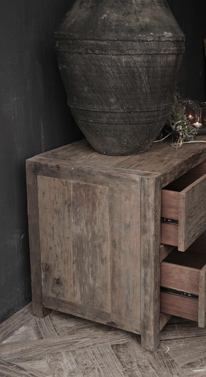 TV Furniture / sideboard of old wood-2