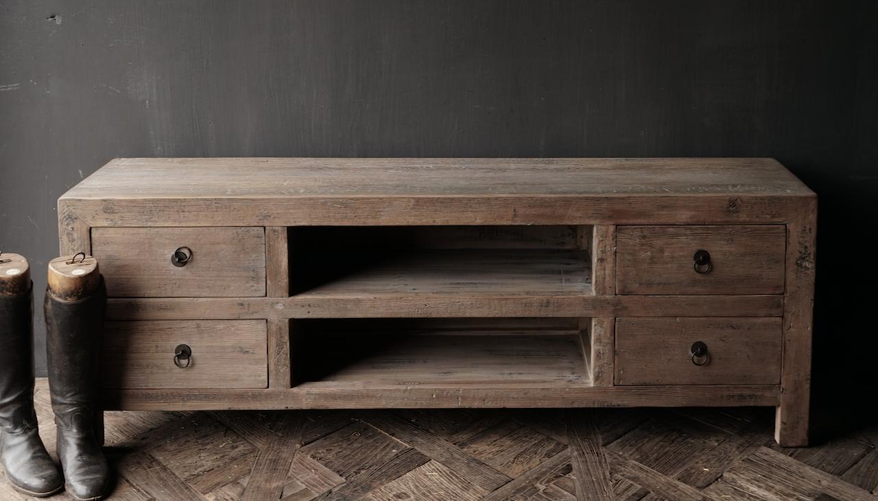 Beautiful sturdy wooden sideboard / TV cabinet / TV cabinet-3