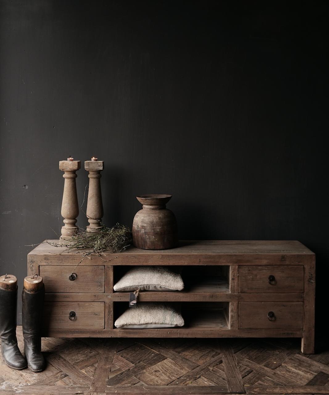 Beautiful sturdy wooden sideboard / TV cabinet / TV cabinet-1