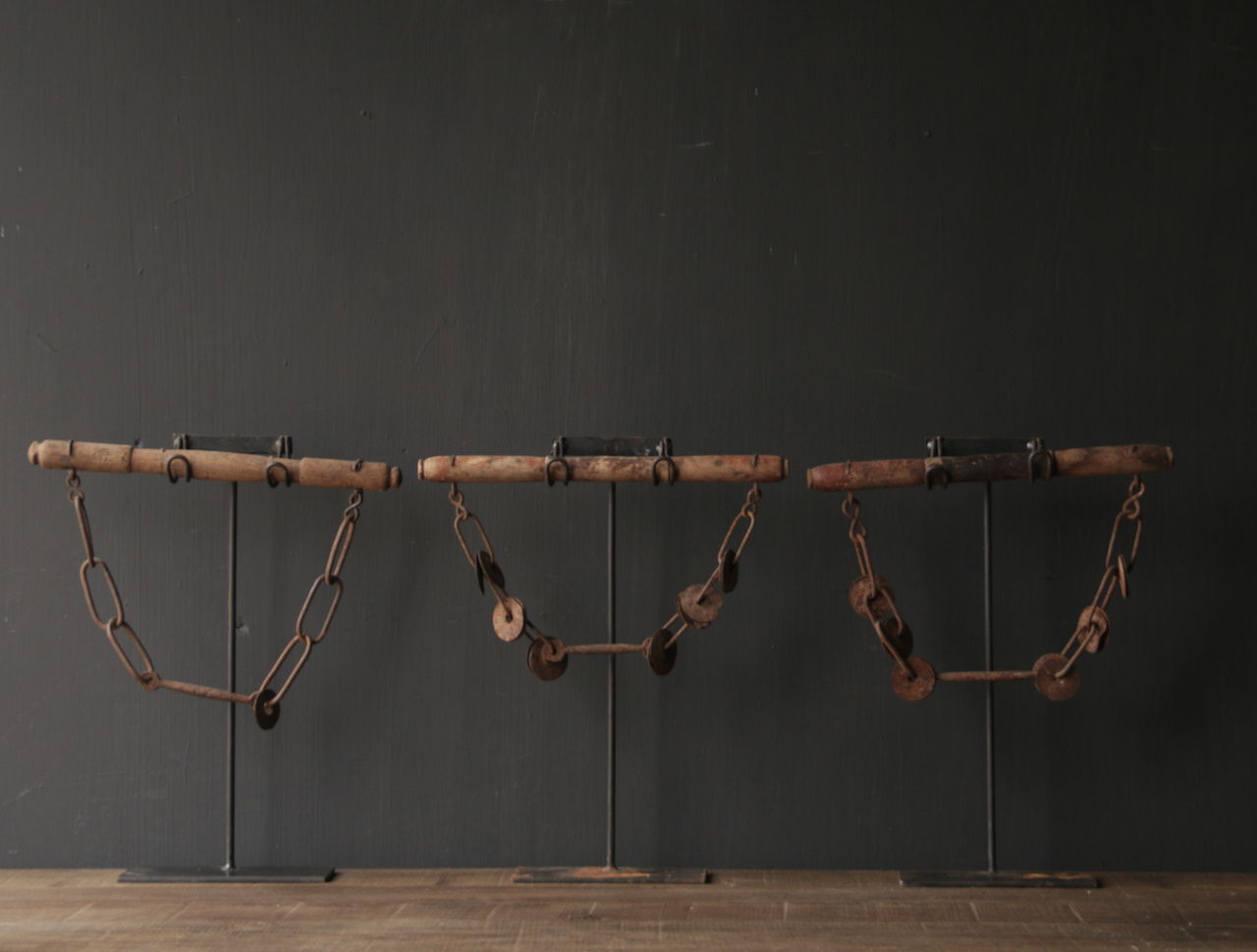 Part of Camel rig on stand-5