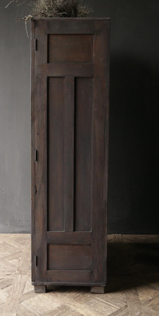 *Gereserveerd* Uniek Antiek Oud Indisch tweedeurs kast-3