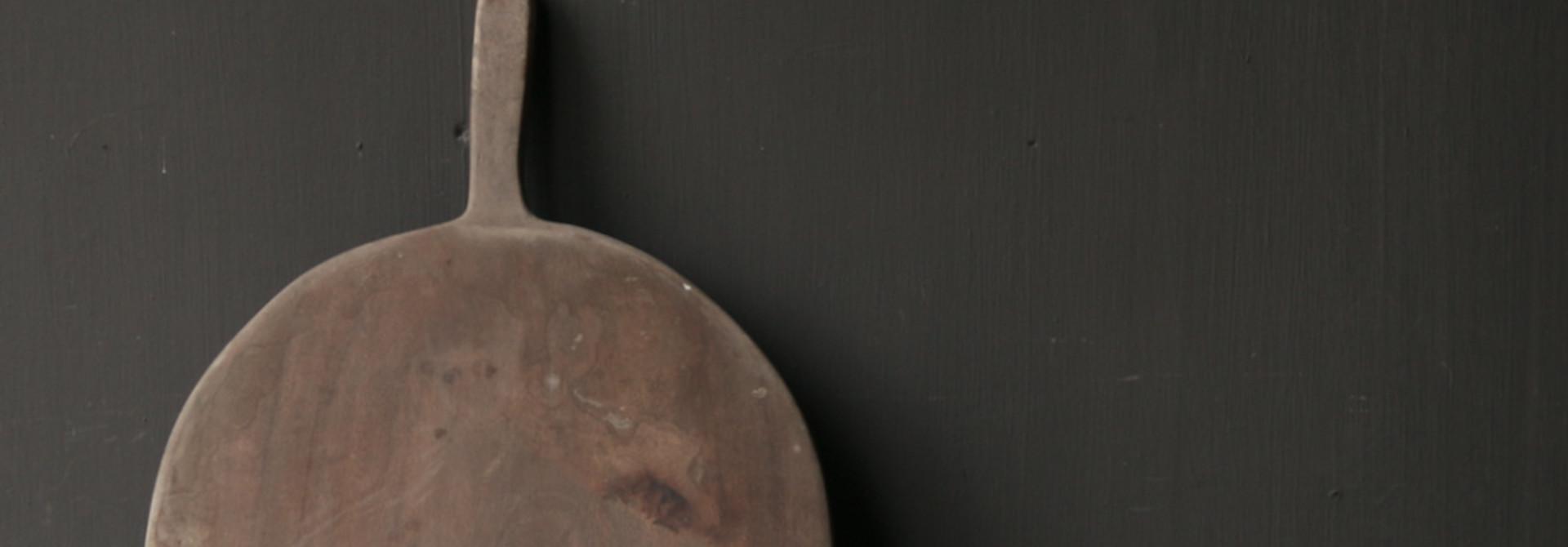Oud houten broodplank / Snijplank