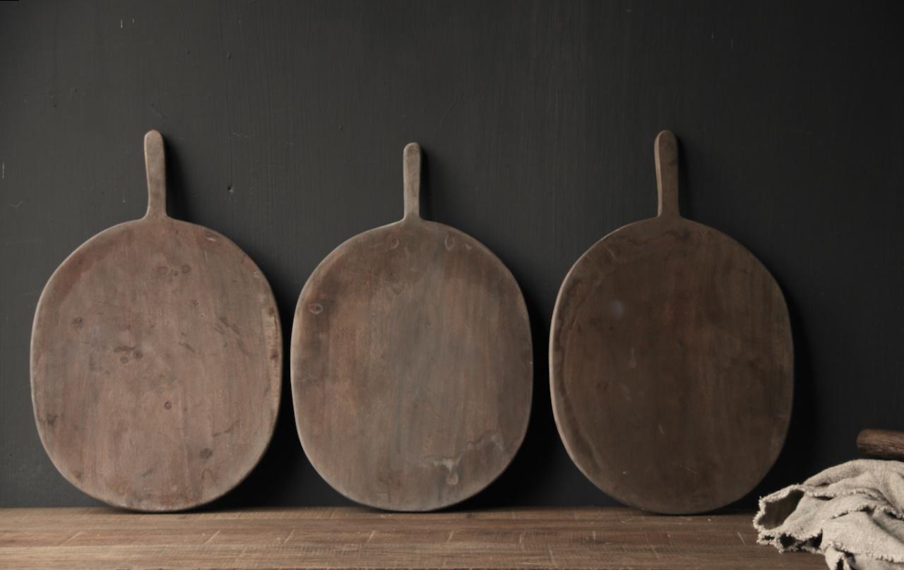 Oud houten broodplank / Snijplank-3