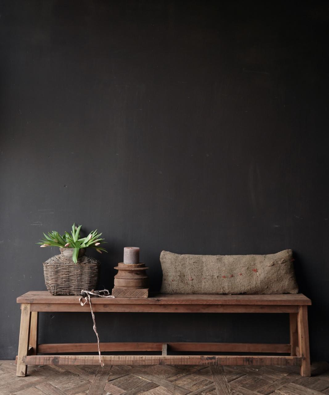 Bank gemaakt van oud hout-4