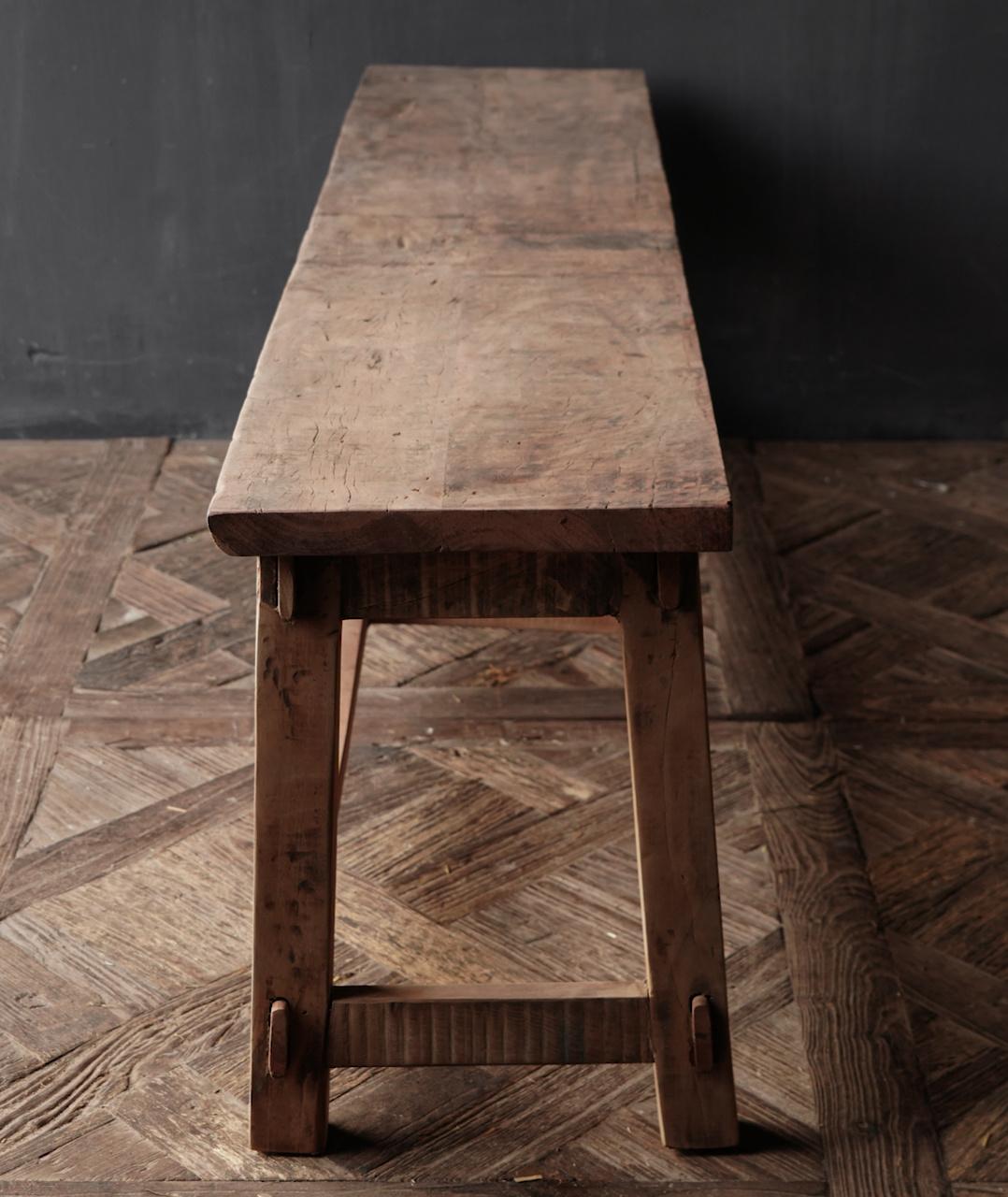 Bank gemaakt van oud hout-6
