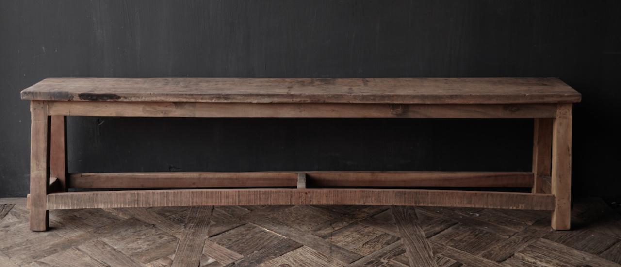 Bank gemaakt van oud hout-7