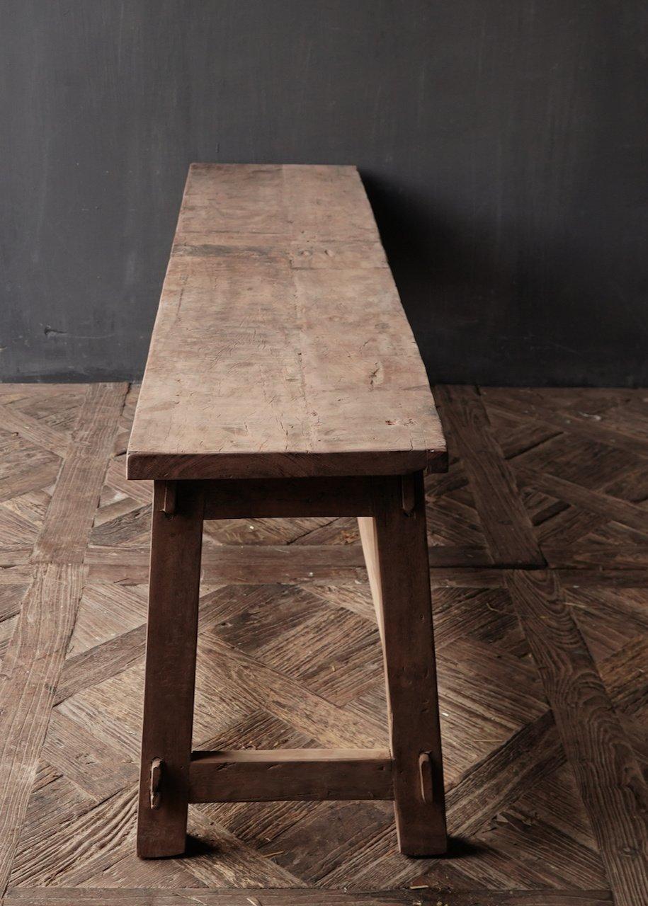 Bank gemaakt van oud hout-8