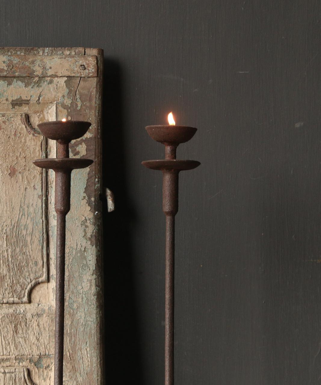 Iron Floor Candlestick-3
