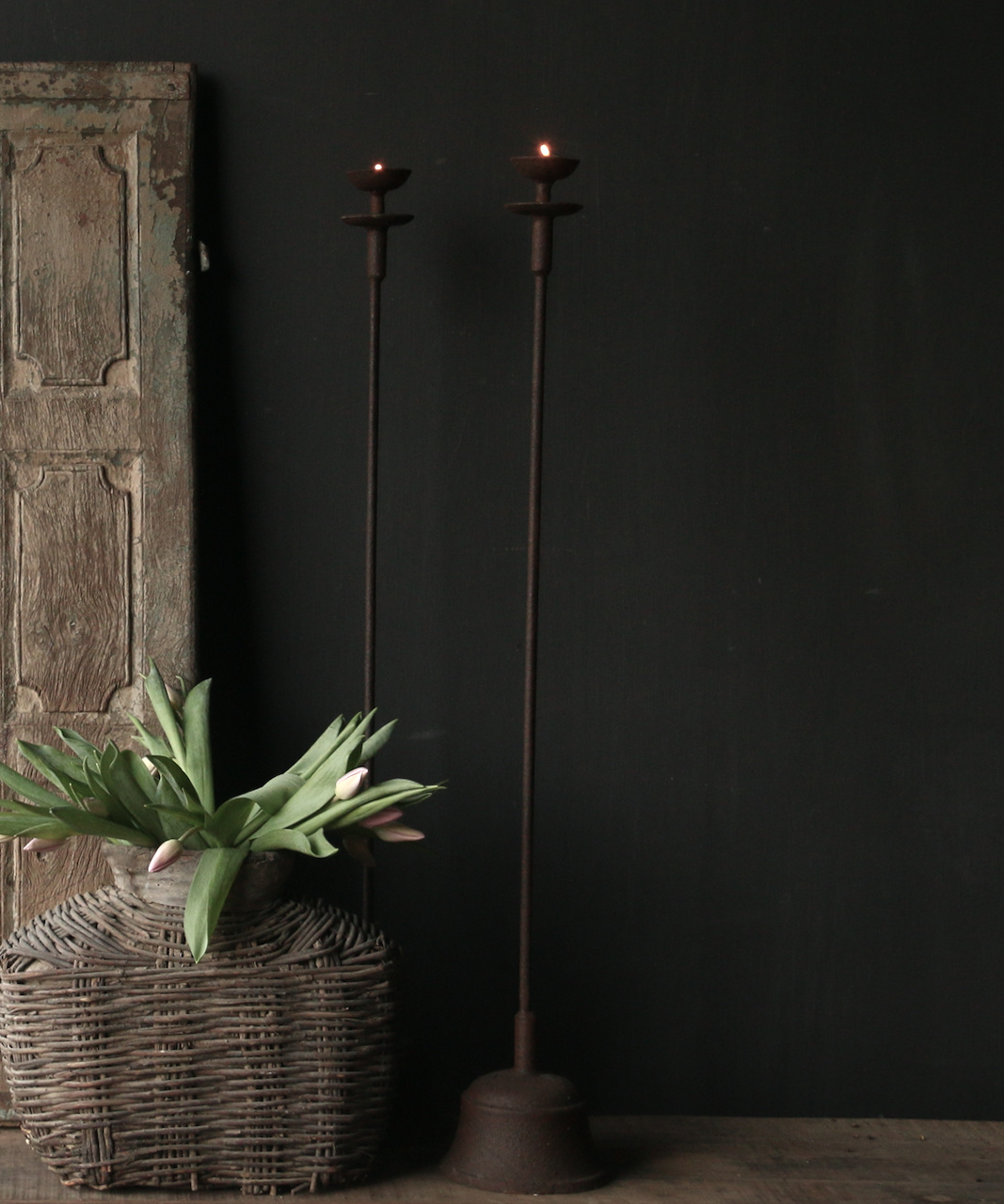 Iron Floor Candlestick-4