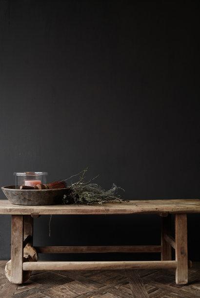 Einzigartiger alter authentischer Couchtisch aus Holz
