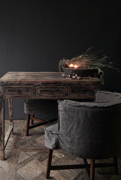 Authentischer einzigartiger alter Schreibtisch / Buro Wandtisch