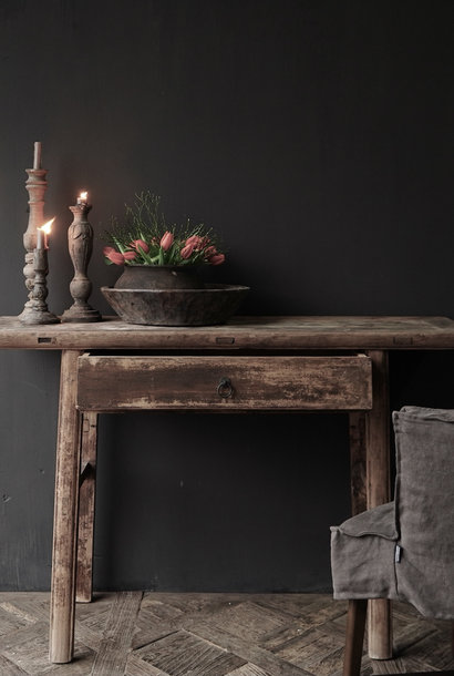 Authentic Sidetable or wall table