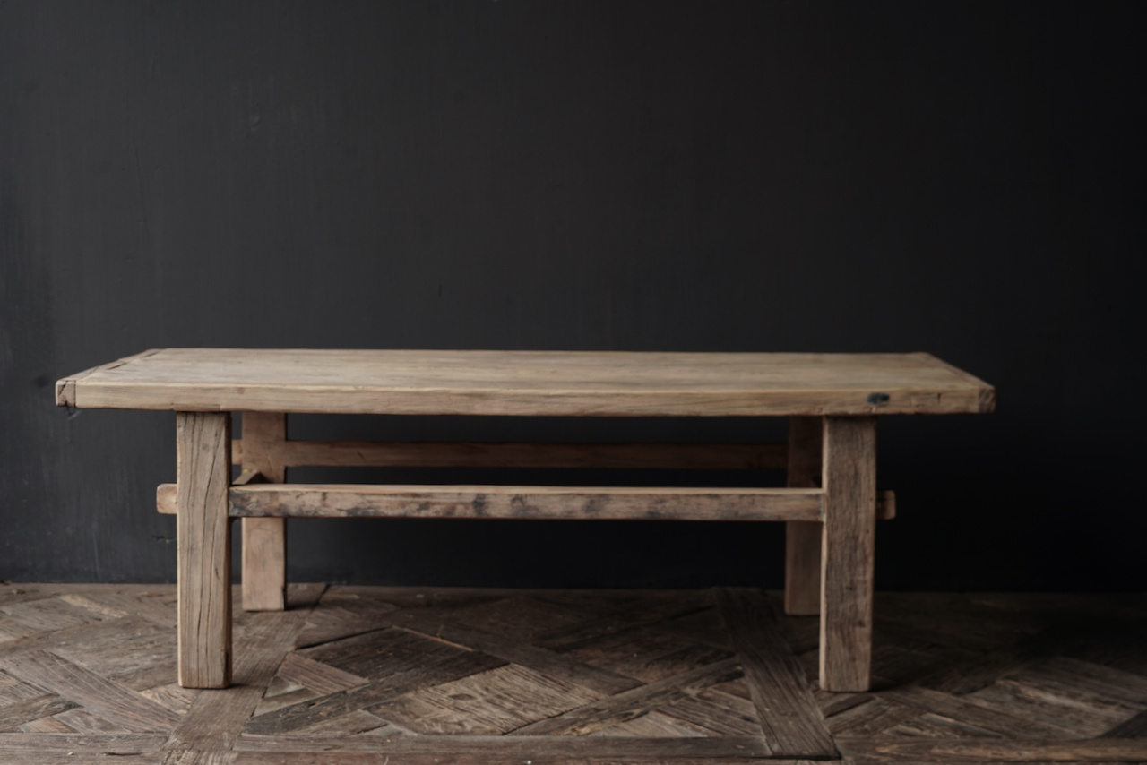 Old authentic wooden coffee table-10