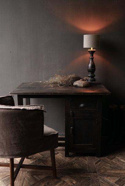 Authentischer alter Schreibtisch / Wandtisch