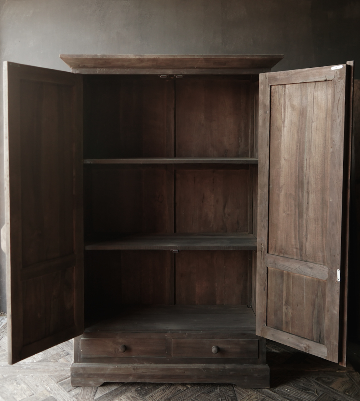 Beautiful old wooden cabinet-4
