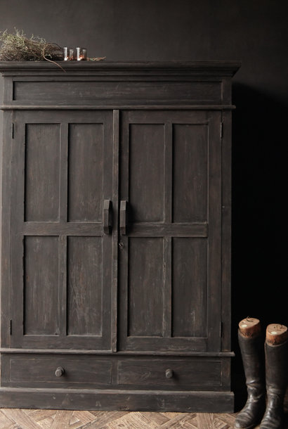 Beautifully Tough Rural old wooden cabinet