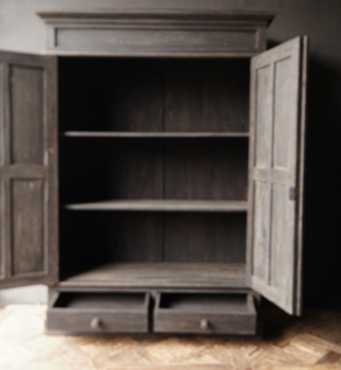 Prachtig   oud houten kast-2