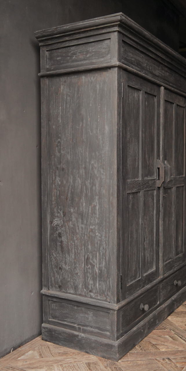 Prachtig   oud houten kast-3