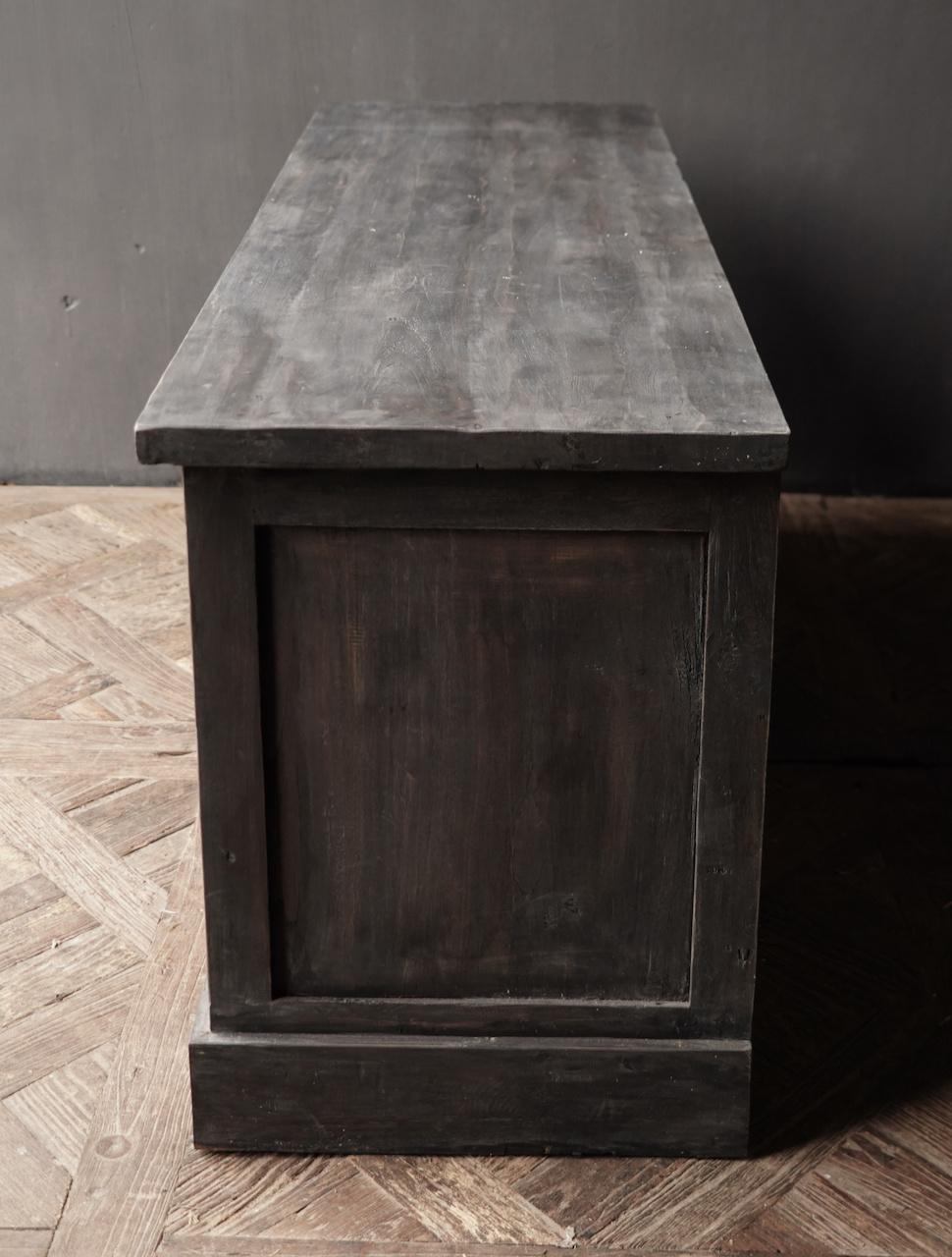 Stoer Tv Meubel / dressoir van oud  hout-3