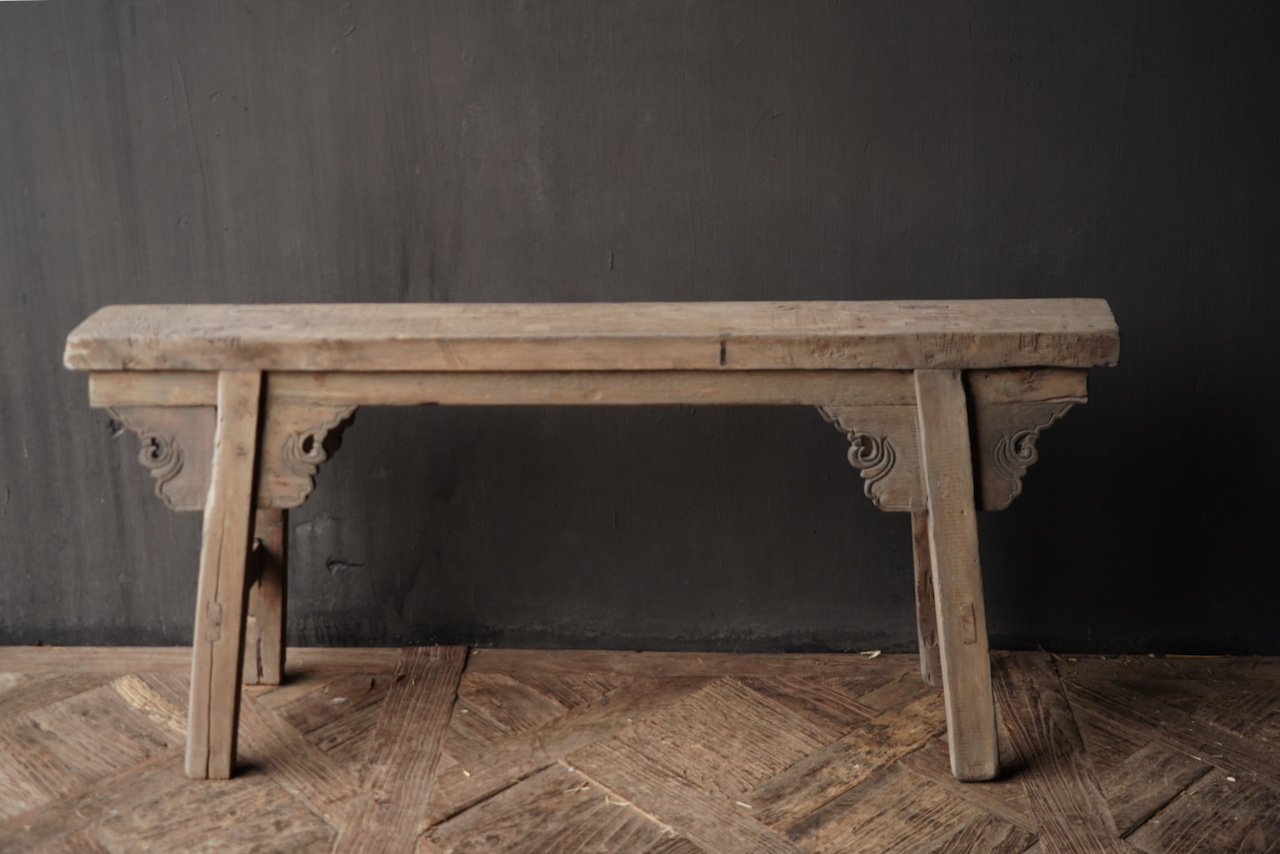 Old wooden bench-3