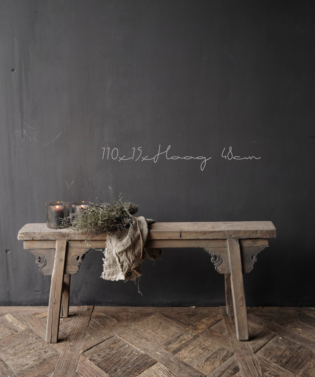 Old wooden bench-1
