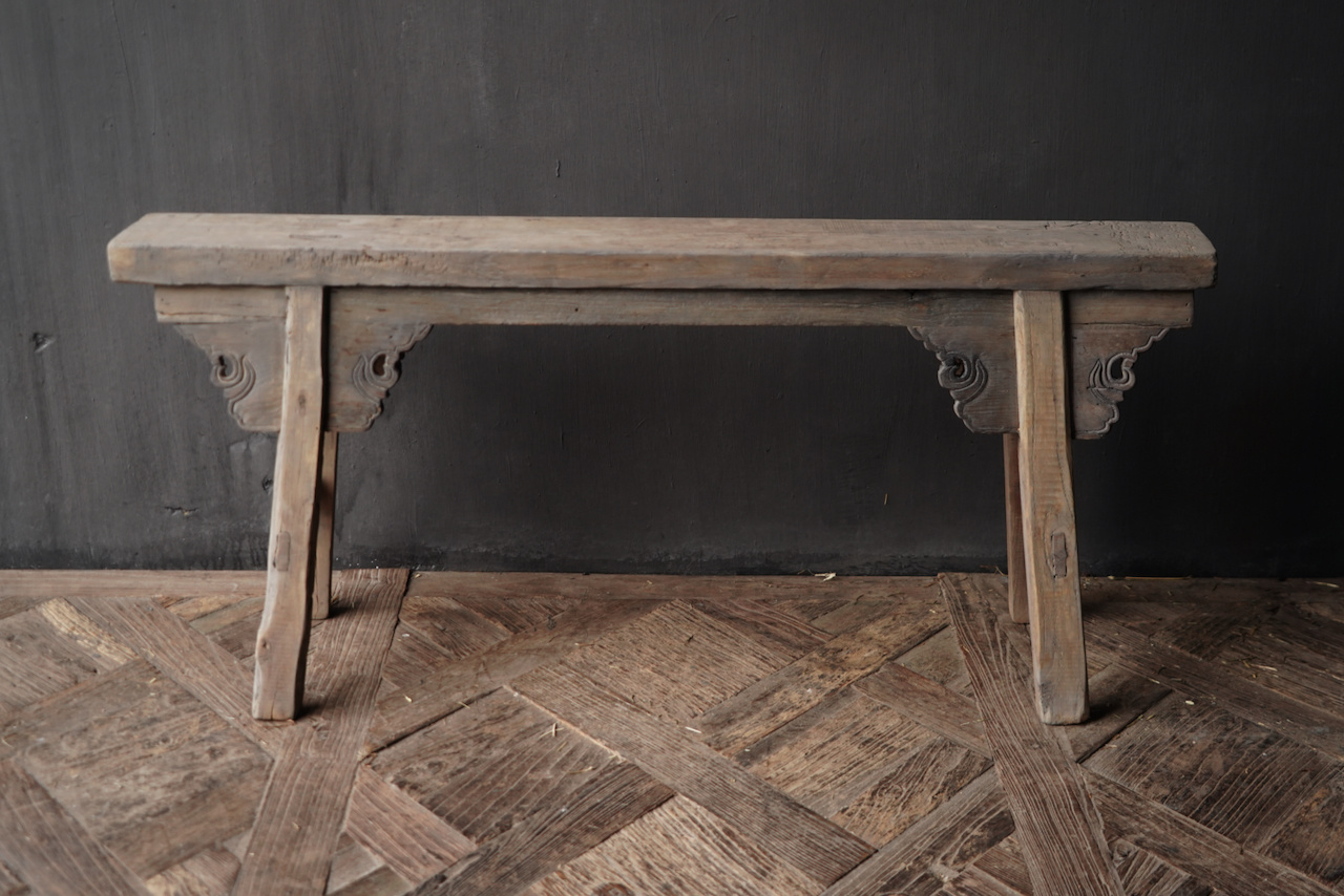 Old wooden bench-4