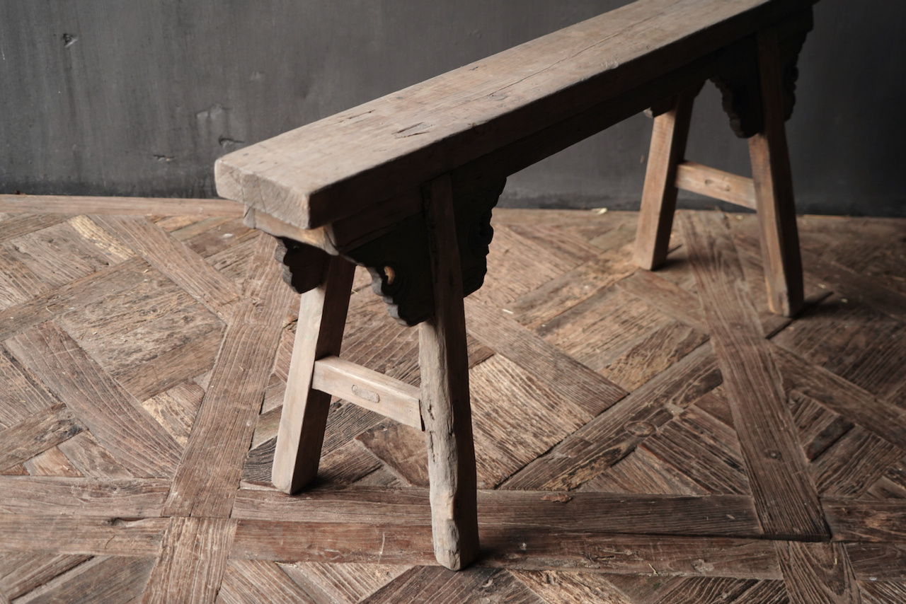 Old wooden bench-5