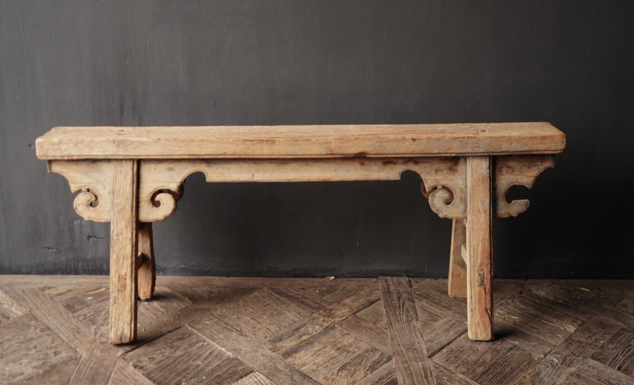 Old wooden bench-2