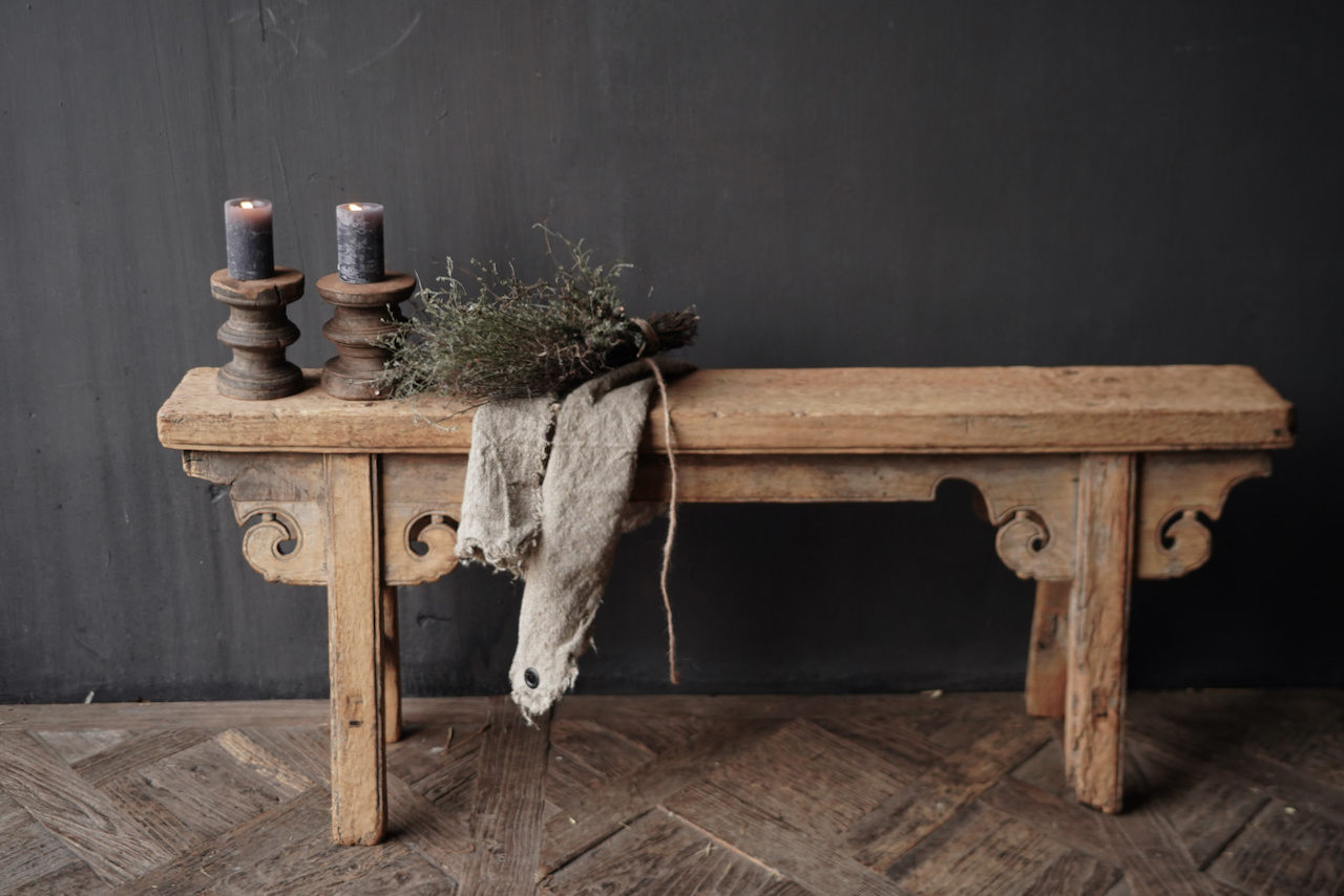 Old wooden bench-7