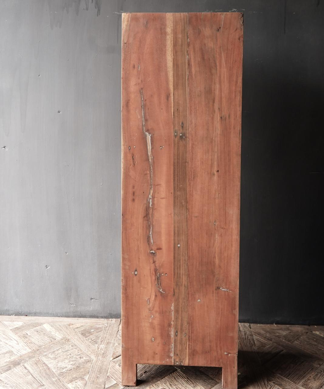 A door cupboard made of old wood-5