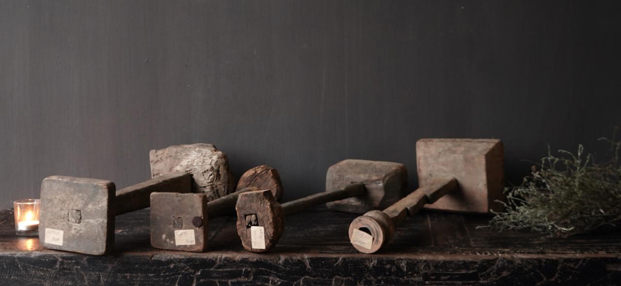 Wooden Stamper candlestick-6