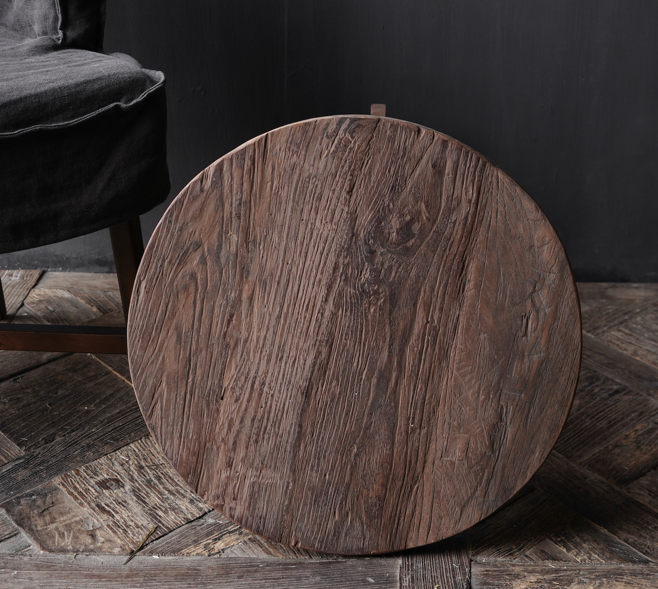 Old wooden wine table-4