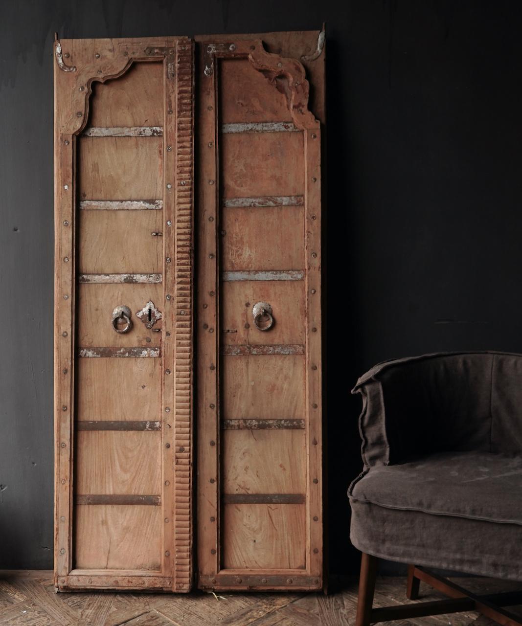 Oude Indische deuren set-4