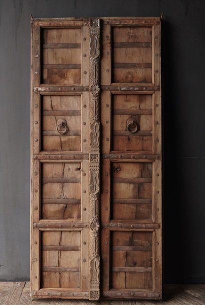 Old Indian doors set