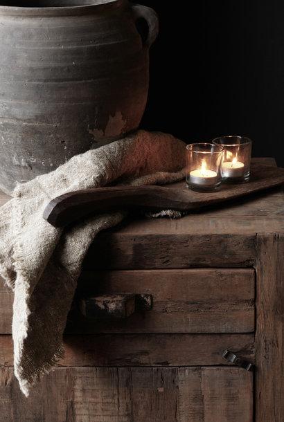 Authentieke Houten Rijstlepel