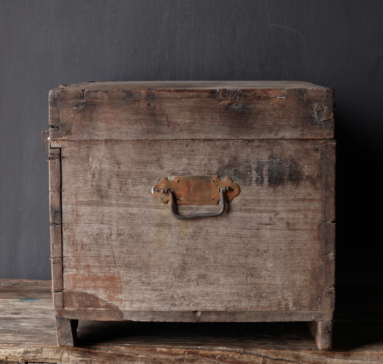 Old Authentic wooden box-4