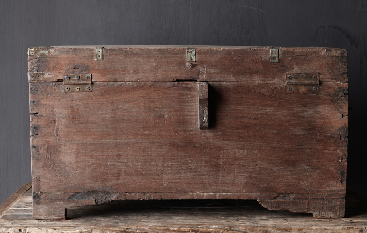 Old Authentic wooden box-5