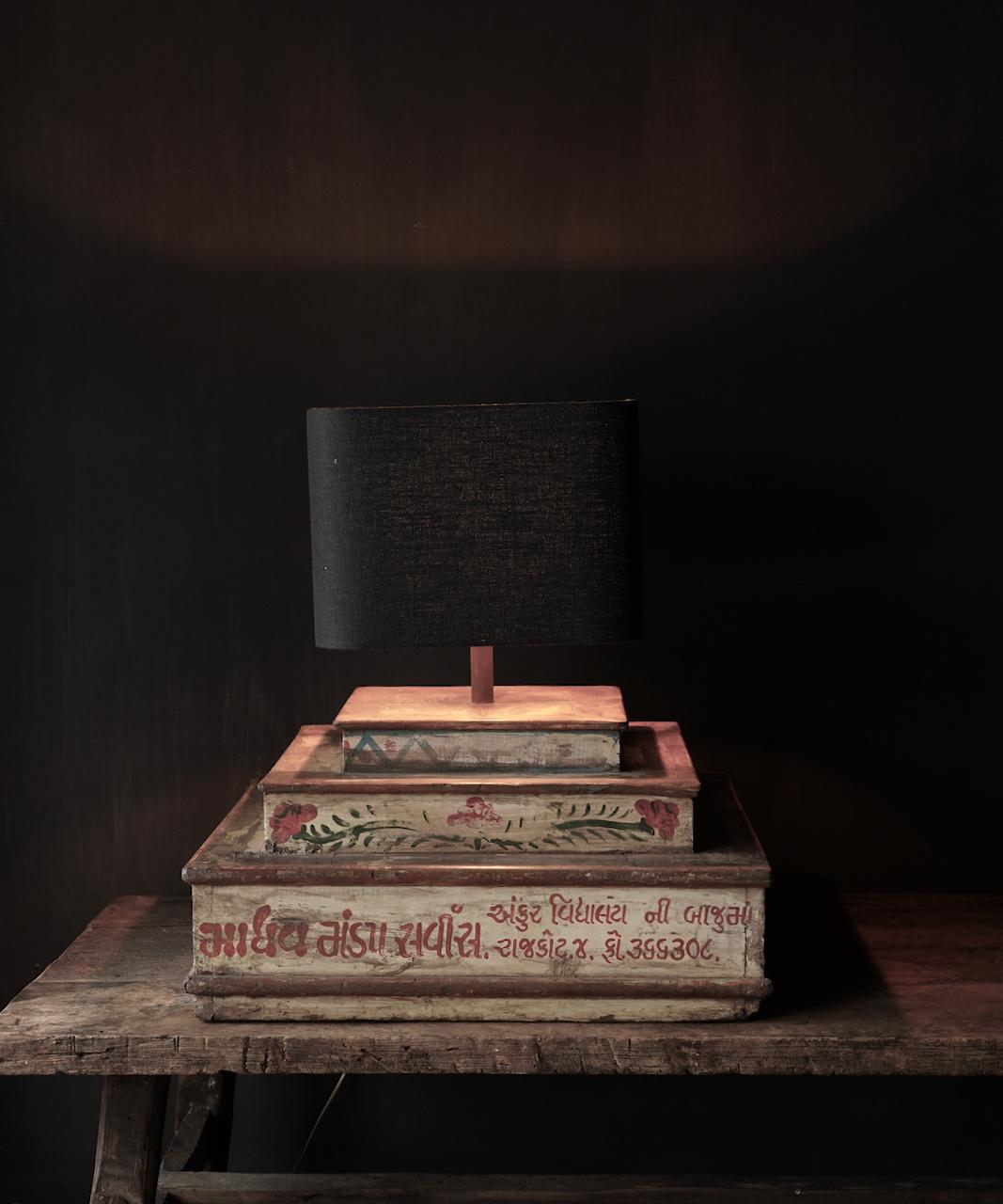 Unieke lamp voet van houten bruidscake etagere-1