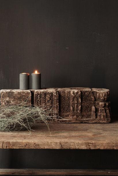 Uniek oud Stoer  houten ornament